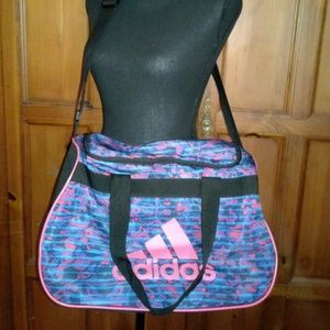 Adidas Sports Gym Workout Bag Travel Duffel Bag